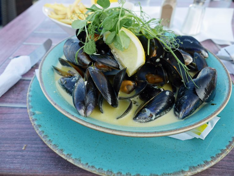 Mussels at the Atlantic St Marys Scilly Isles