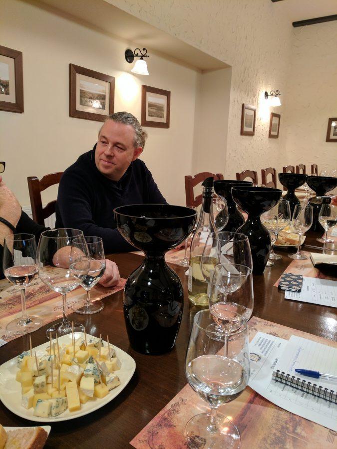 Philip Cox Wine Tasting