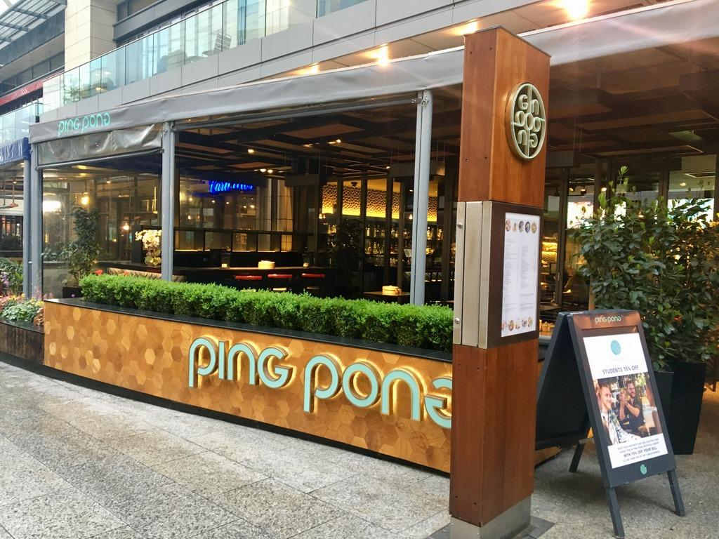 Ping Pong Westfield Shepherds Bush