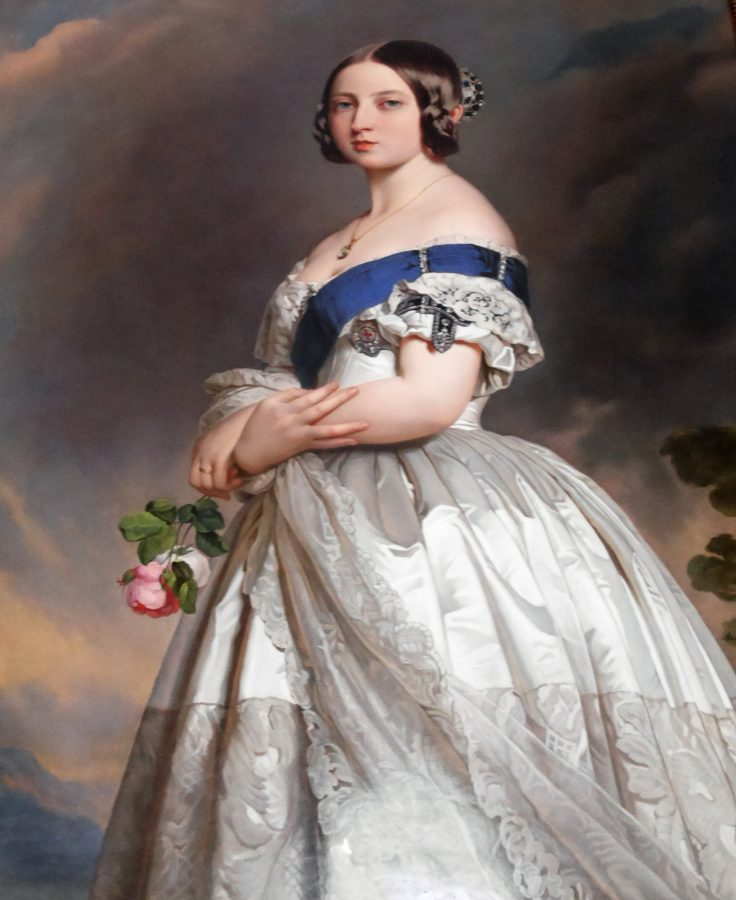 Portrait of young victoria at Osbourne House