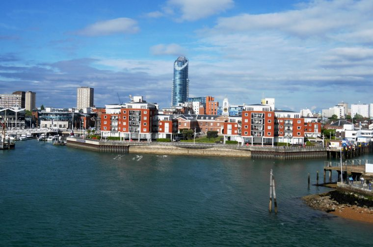 Portsmouth from the Isle of Wight
