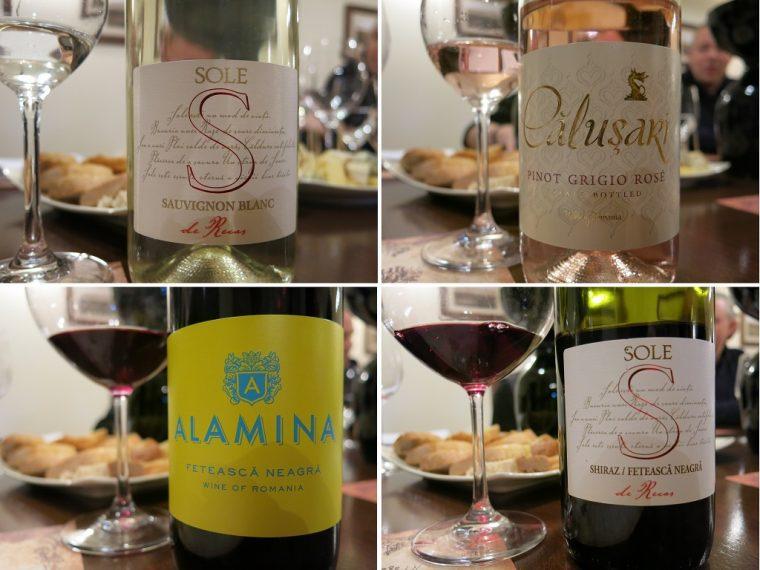 Romanian Cramele Recas Wines