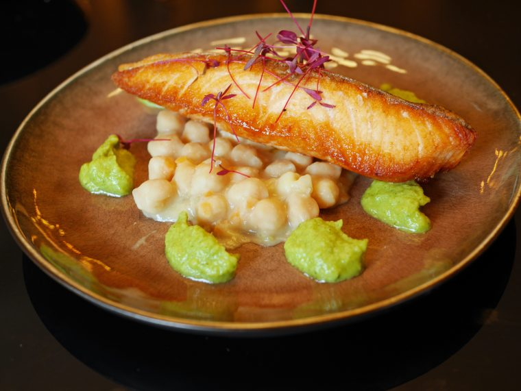 Salmon and Chickpeas - Ritorno