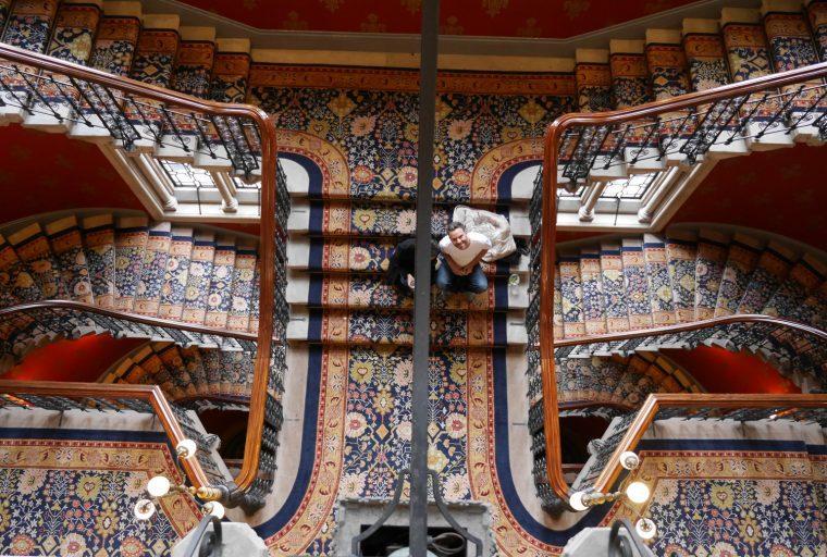 St Pancras REnaissance Stairs 2