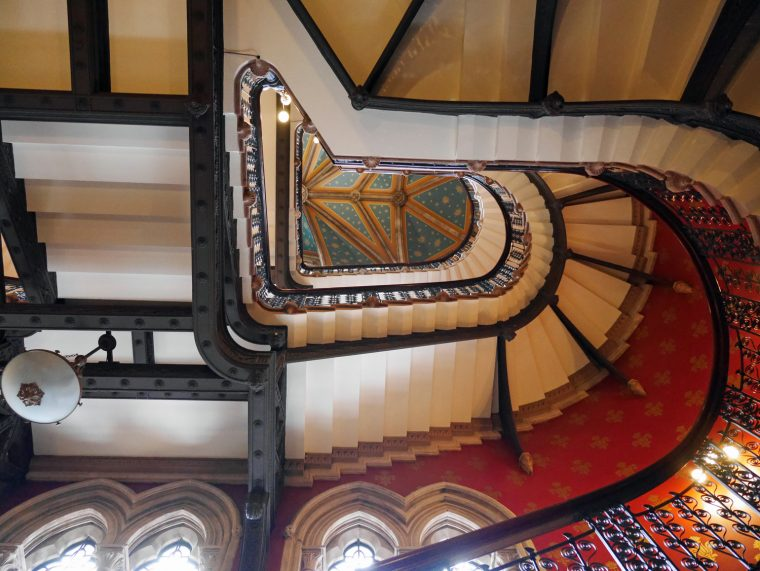 St Pancras Renaissance Stairs 3