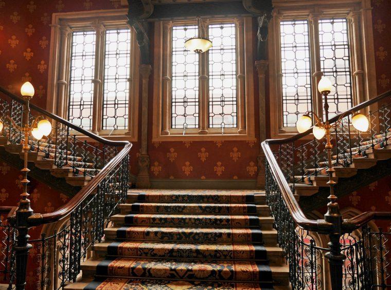 St Pancras Renaissance Stairs