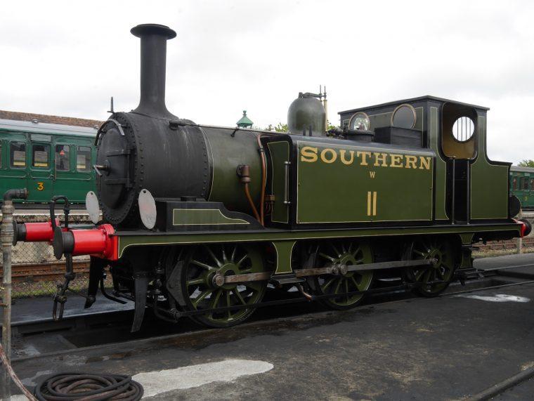 Steam Train Isle of Wight