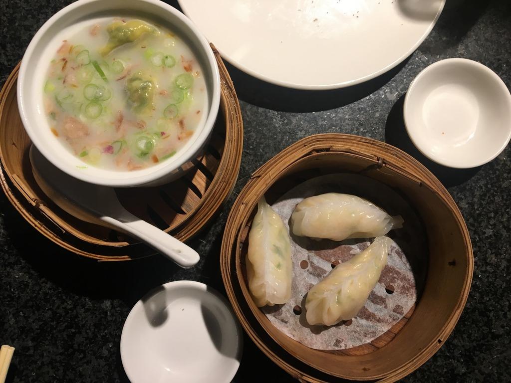 Thai Style Wong Tong Soup & Crab & Prawn Dumpling - Ping Pong