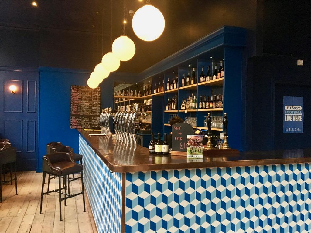 The Italian Job - bar area
