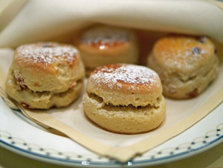 the Langham afternoon Tea Scones