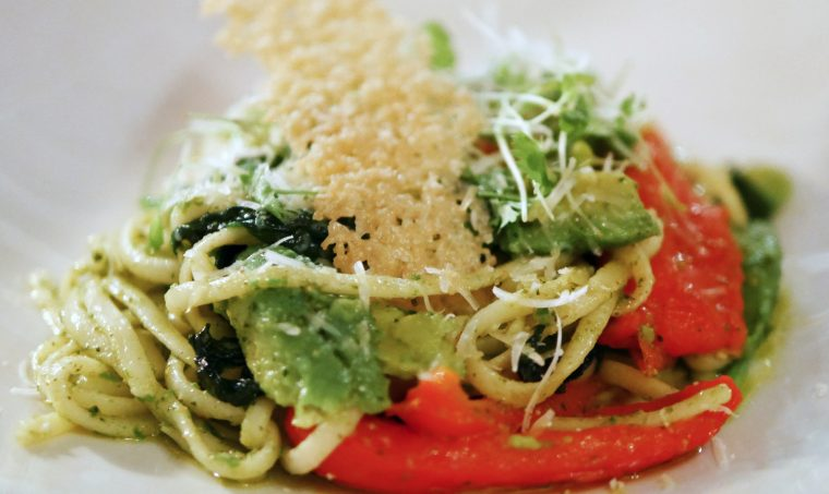 Veggie Linguine Star Castle Hotel 2