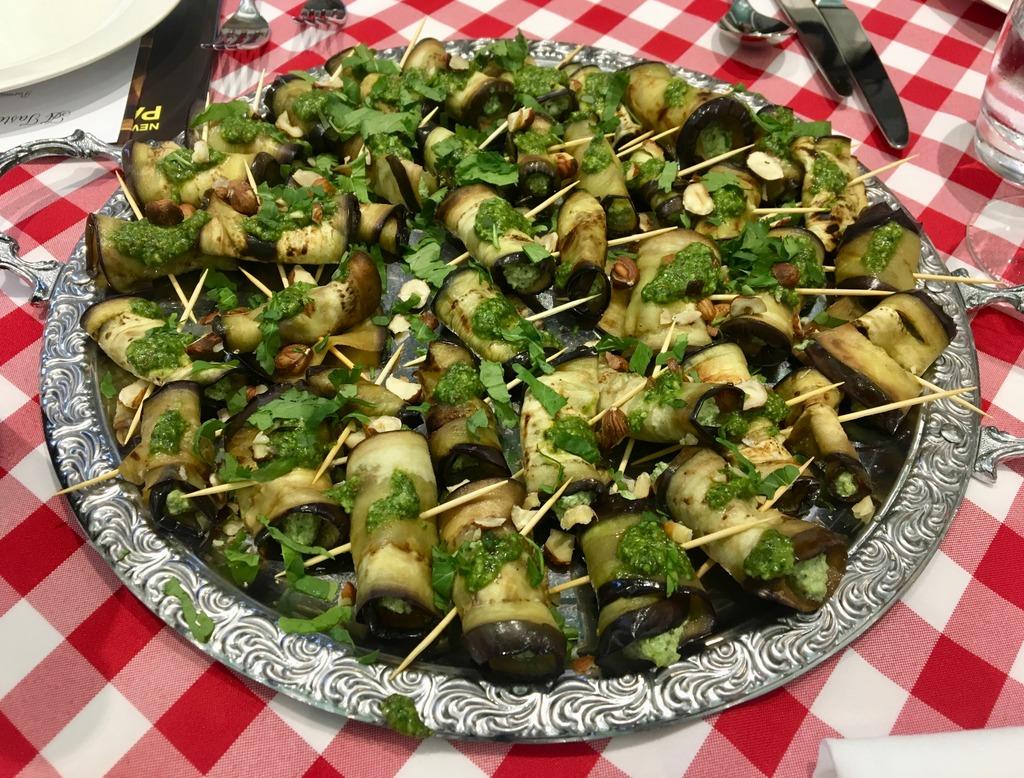 Aubergine rolls - Parmigiano Reggiano P.D.O event