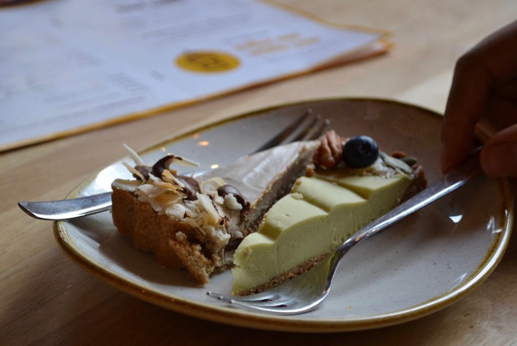 Bananna Cake Avocado and Lemon cake at Madam Bakster, Ghent