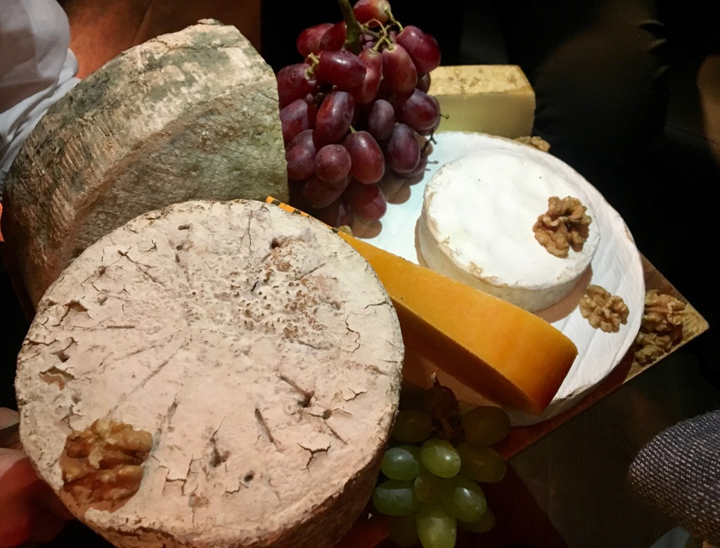 French Cheese board - Loire Valley Wines