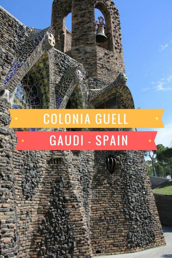 Colonia Guell, Calatonia, Spain