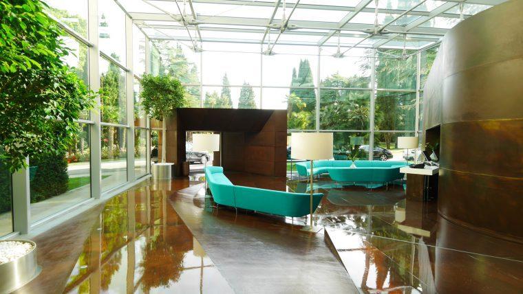 Lido Palace Lobby