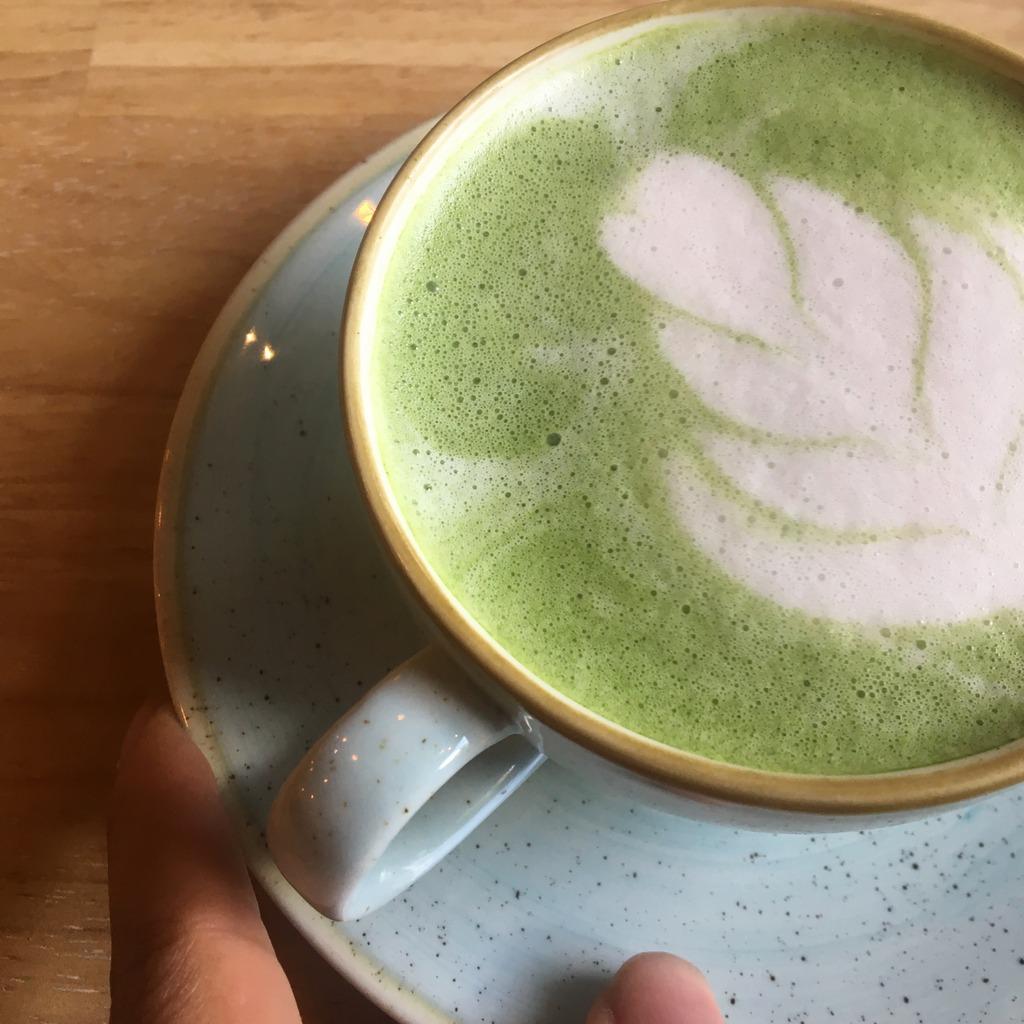 Matcha cappuccino, Madam Bakster, Ghent