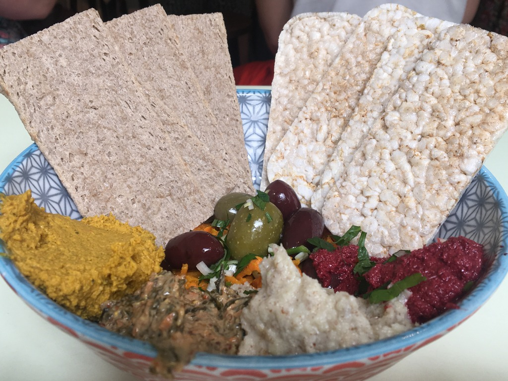 Mixed Humous - Vegetarian Dining in Ghent, Belgium