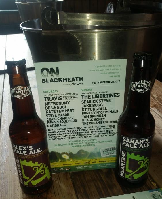 On Blackheath - Meantime beer sponsor