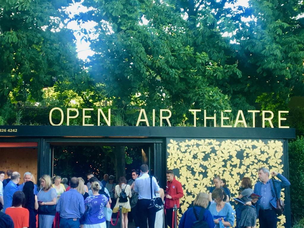 Regent's Park Open Air Theatre Entrance