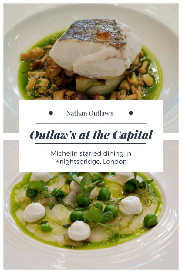 Outlaw's at the Capital - Nathan Outlaw's Michelin Starred Knightsbridge restaurant