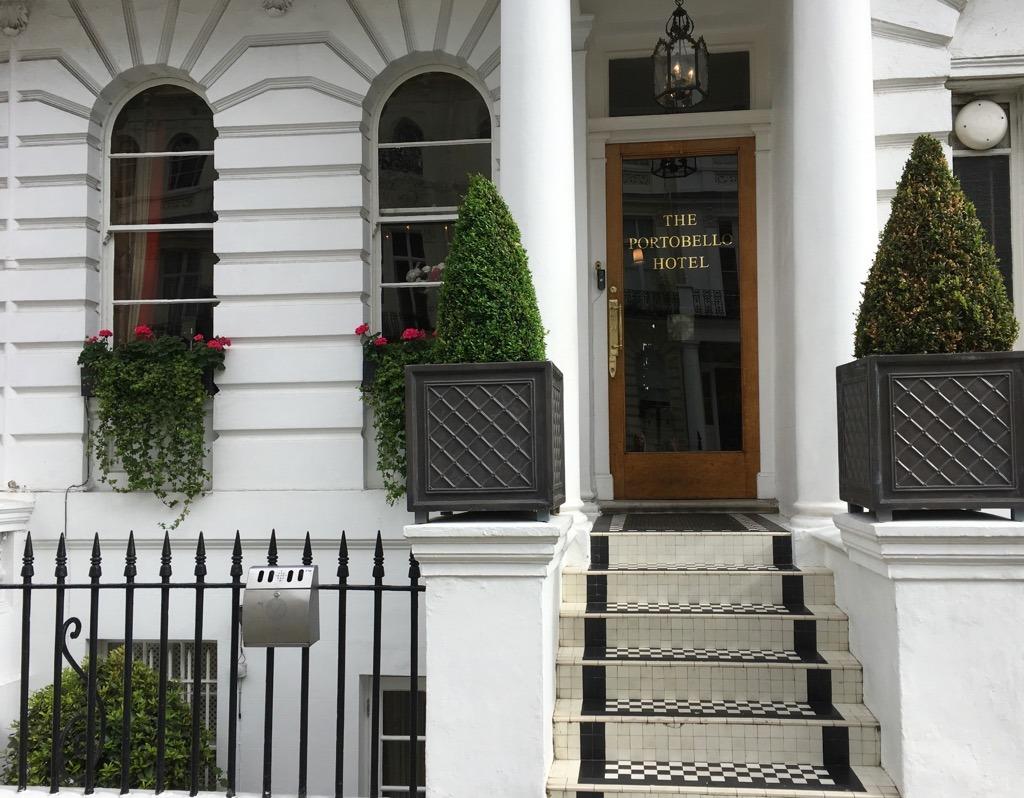 Portobello Hotel exterior