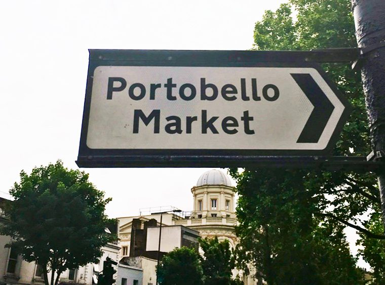 Portobello Market Sign