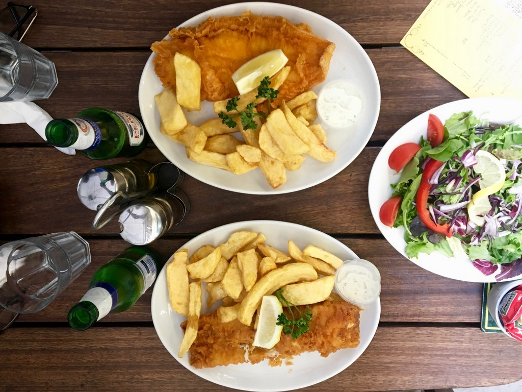 Rock & Sole Plaice - Fish and chips