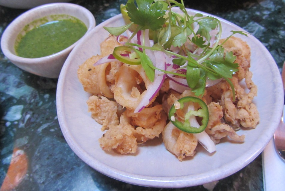 Senor ceviche - baby squid