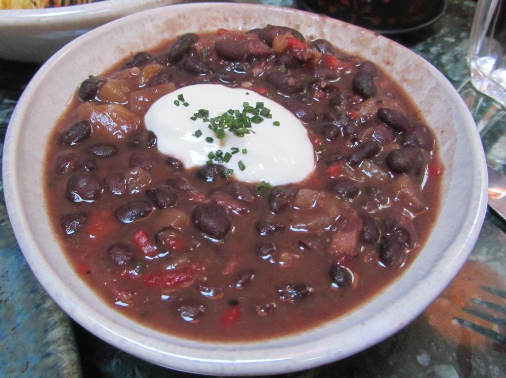 Senor ceviche - black beans