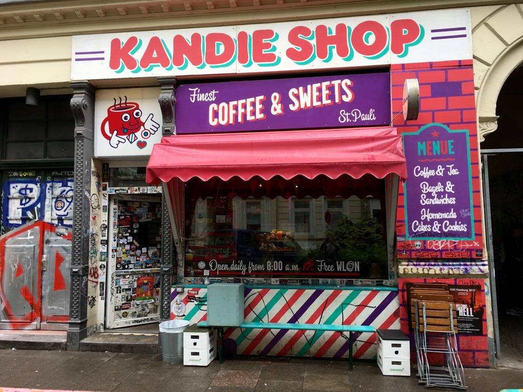 St Pauli Kandie Shop