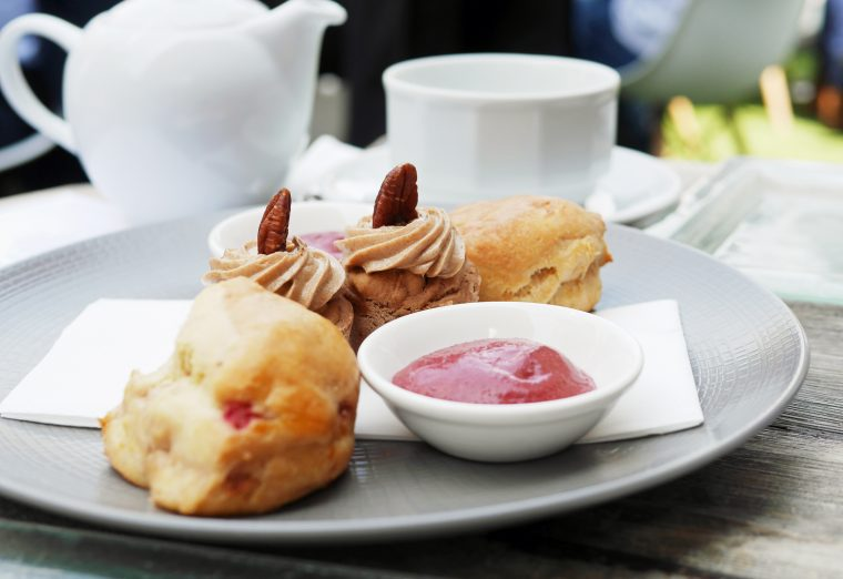 Sugar Free Afternoon Tea - Scones and Carrot Cake