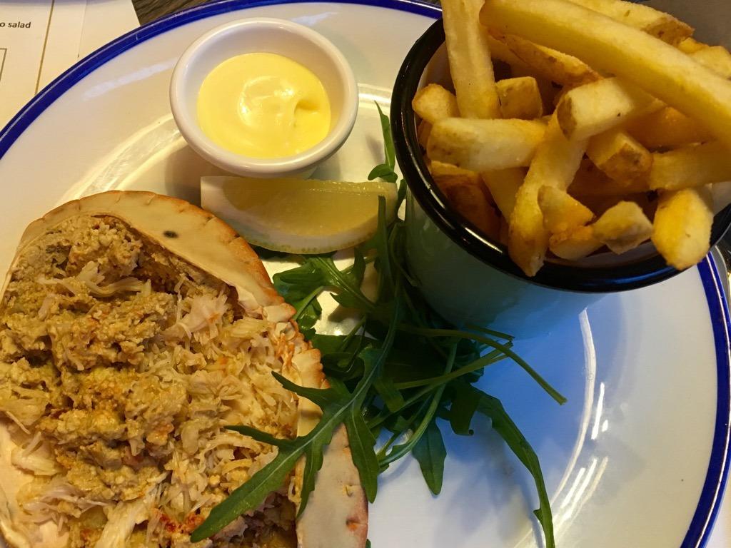 The Eagle Pub Notting Hill Crab