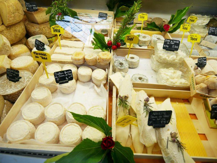 Tarn Albi Market Cheese