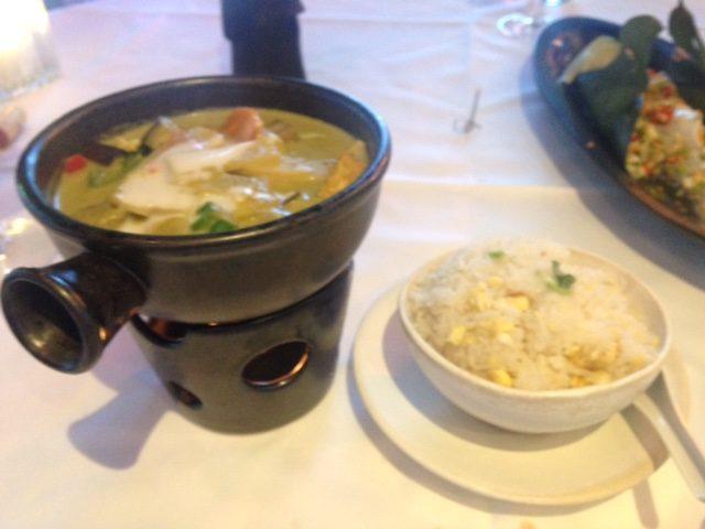 Thai Square Veg green curry