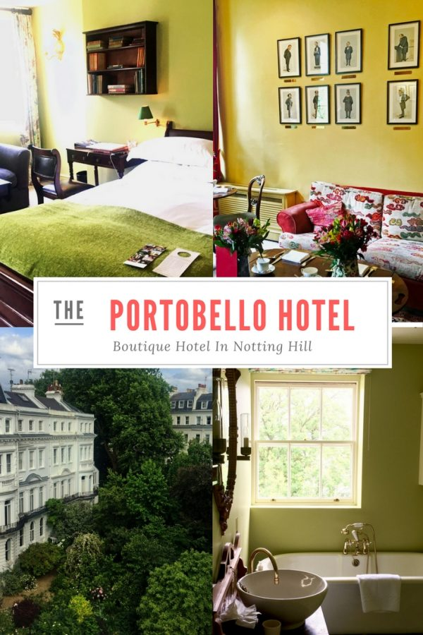The Portobello Hotel, Notting Hill London
