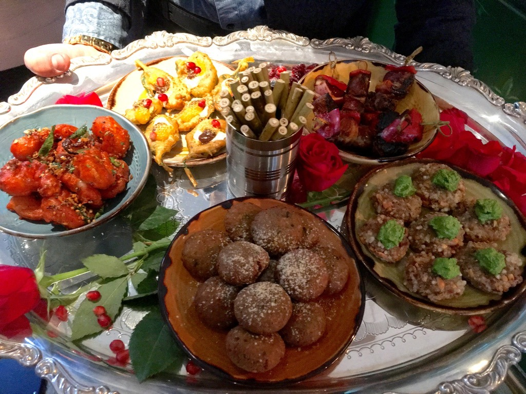 Vivek Singh's Indian Festival Feasts canapes