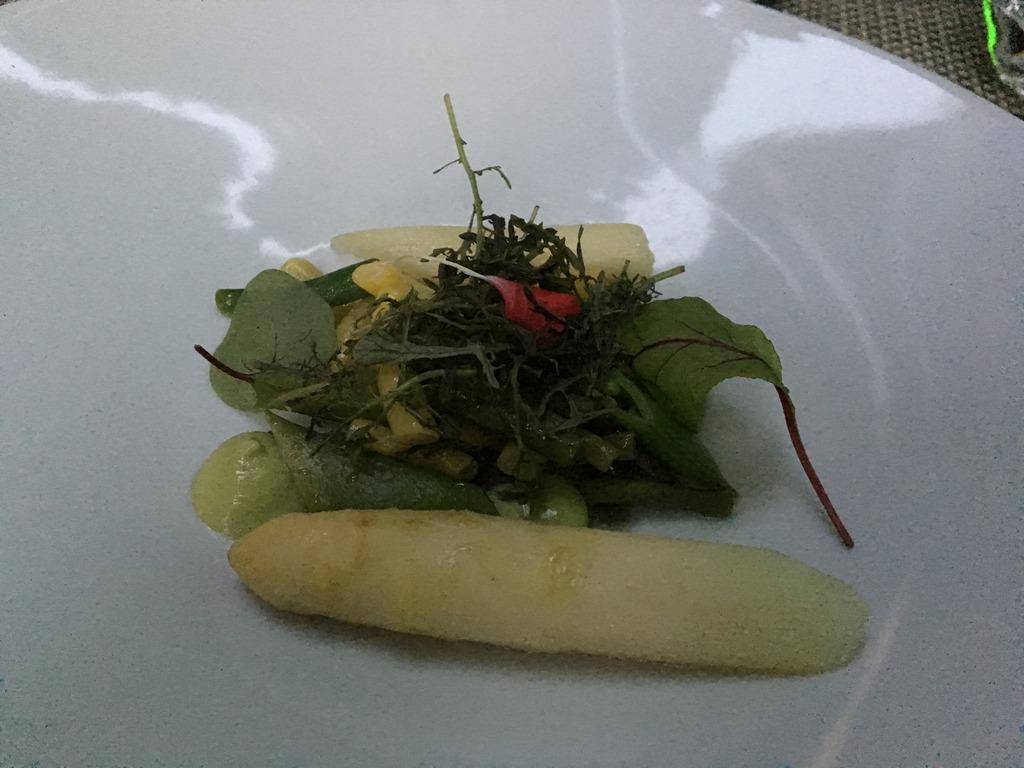 White Asparagus and Green Veg, Ghent Belgium