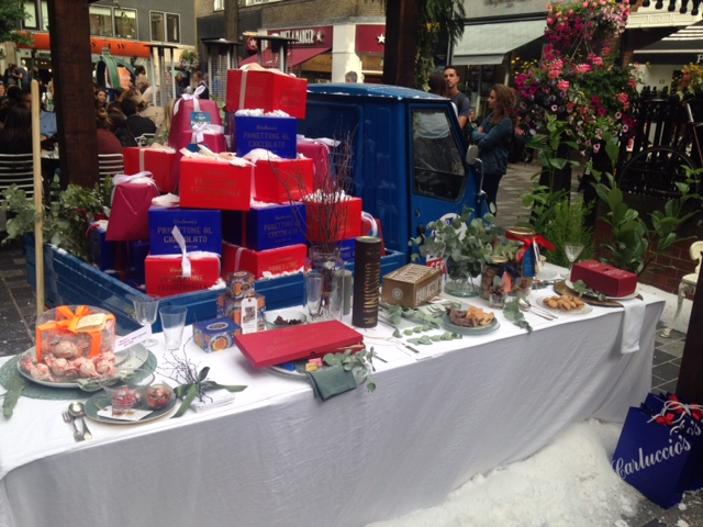 Carluccios Christmas Gifts Launch