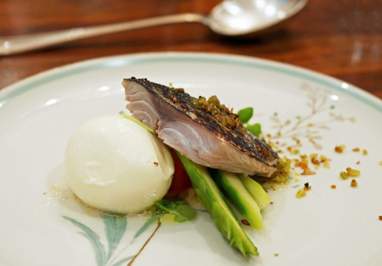 Danilo Cortellini - Mackerel 2 - London dining scene
