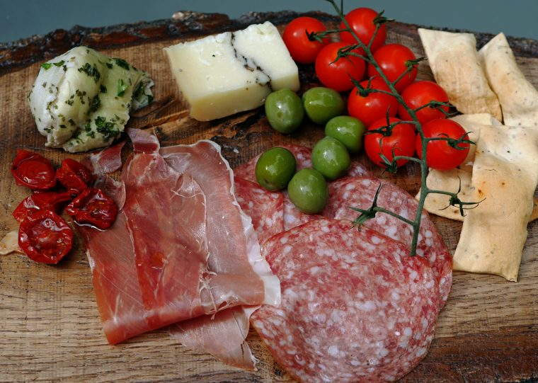 Diforti Antipasti supper