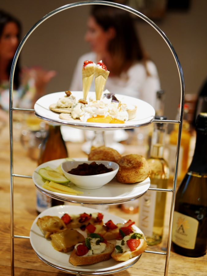 Cheese Afternoon Tea Tower - Georgian House
