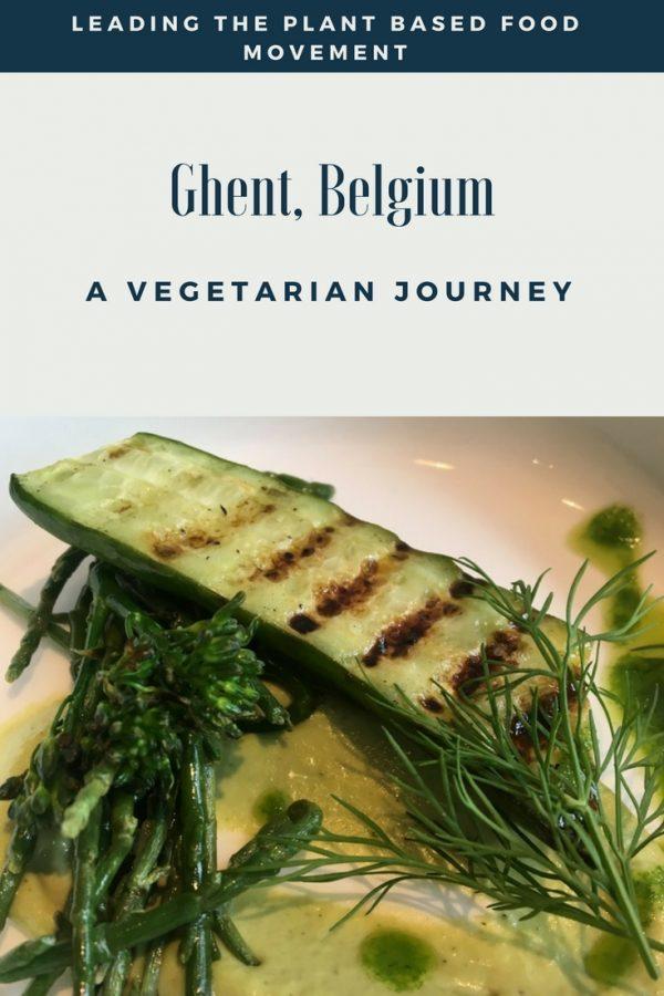 Ghent Belgium - Vegetarian Dining Opportunities
