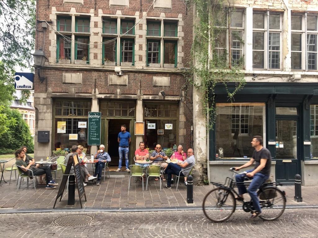 Ghent Belgium street life