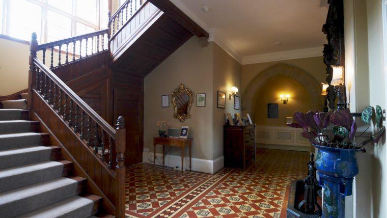 Highbullen Hotel Stairs