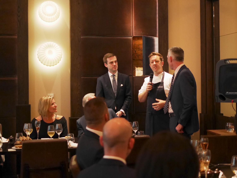 Introduction by Ashley Palmer Watts- Dinner by Heston, Mandarin Oriental London