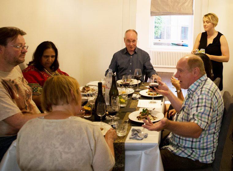 Meeting the Chef, La Belle Assiette, Eleanor Smith