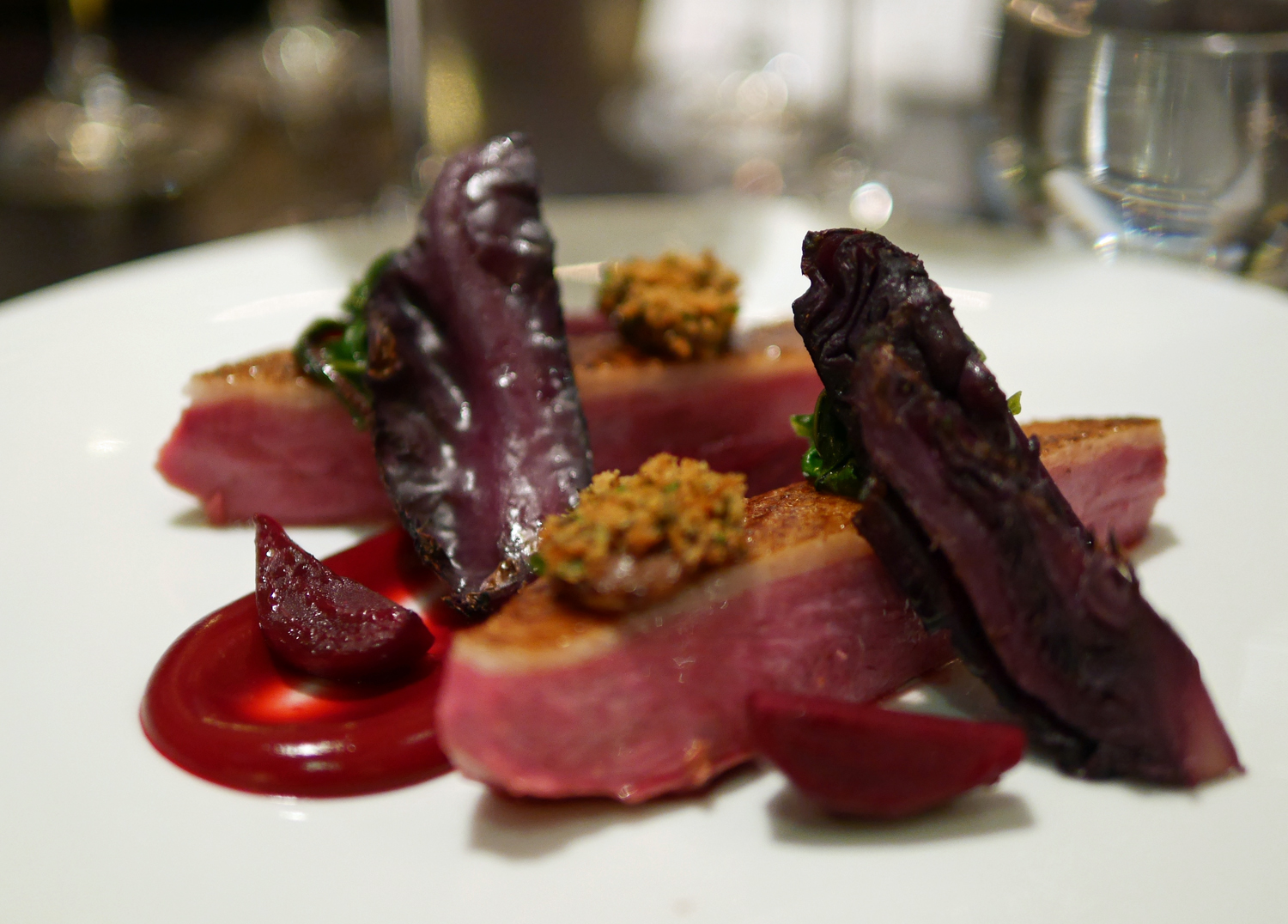 Powdered Duck - Dinner by Heston, Mandarin Oriental London