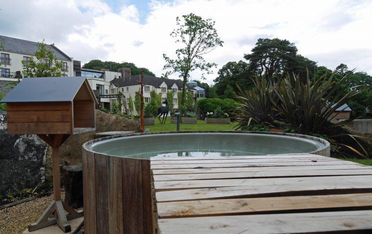 Private hot tub - galgorm