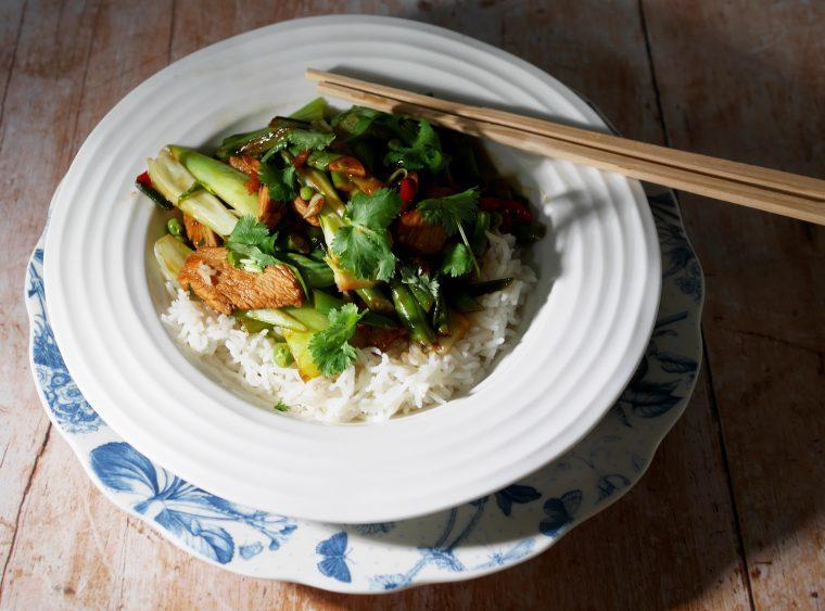 Spicy Chicken Stir Fry - 268 calories